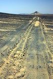 黑色沙漠 库存照片