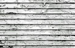 黑色油漆削皮白色 免版税图库摄影
