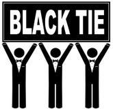 黑色活动关系 免版税库存图片