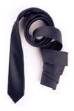 黑色滚的螺旋关系 免版税图库摄影
