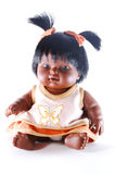 黑色玩偶 库存图片