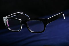黑色玻璃 免版税库存照片