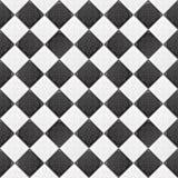 黑色瓦片白色 免版税库存照片