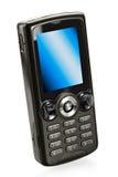 黑色电池移动电话 免版税图库摄影
