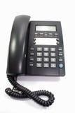 黑色电话 向量例证