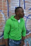 黑色男性多伦多年轻人 免版税图库摄影