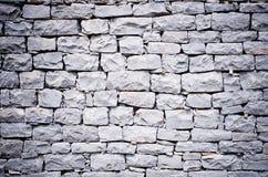 黑色石墙 库存图片
