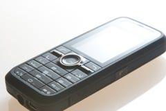 黑色移动电话 免版税库存图片