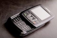 黑色移动电话 库存照片