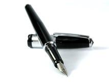 黑色笔 免版税图库摄影