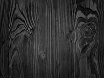 黑色纹理木头 免版税库存照片
