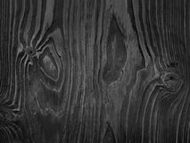 黑色纹理木头 图库摄影