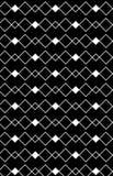 黑色线路模式白色之字形 库存图片