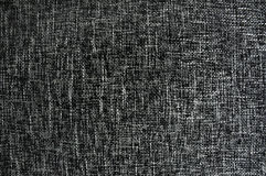 黑色织品纹理白色 免版税图库摄影