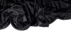 黑色缎 免版税库存图片
