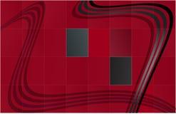 黑色网格红色 免版税图库摄影