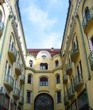 黑色老鹰旅馆oradea罗马尼亚 免版税库存照片