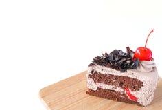 黑色蛋糕森林 免版税库存照片