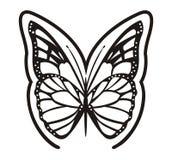 黑色蝴蝶 免版税图库摄影
