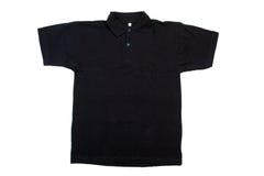 黑色衬衣t 库存图片