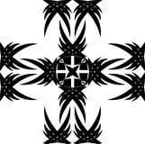黑色装饰品 向量例证