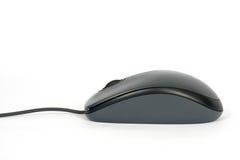 黑色计算机鼠标 库存图片