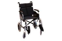黑色轮椅 免版税图库摄影