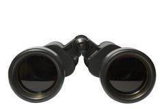 黑色野外镜 免版税库存照片