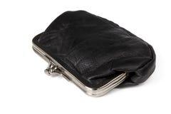 黑色钱包 图库摄影