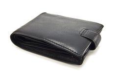 黑色钱包 库存照片