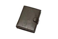 黑色钱包 库存图片