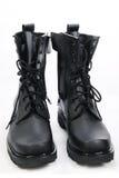 黑色鞋子 免版税图库摄影
