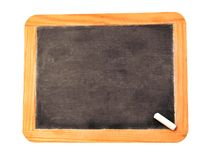黑色黑板 库存照片