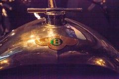 黑色1926年本特利3 0公升100英里/小时超级体育 库存图片