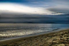 黑色calo海运 库存图片