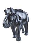 黑色elefant 免版税图库摄影