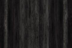 黑色grunge镶板木头 板条背景 老墙壁木葡萄酒地板 免版税库存照片