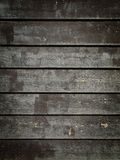 黑色grunge镶板木头 图库摄影