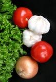 黑色vegatables 免版税库存照片
