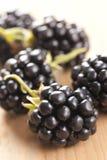 黑莓制表木 免版税库存照片