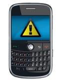 黑莓电池pda电话向量 免版税库存图片