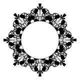 黑葡萄酒八针对性的框架 库存照片