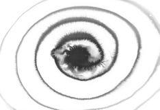 黑螺旋抽象背景 免版税库存图片