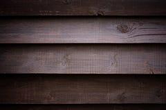 黑褐色委员会木织地不很细背景  免版税图库摄影