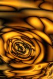 黑金子纹理  抽象无缝的纹理 分数维艺术ba 免版税库存照片