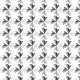 黑银弯曲的线三角形状加入样式背景 免版税库存图片