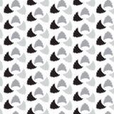 黑银粗化三角形状样式背景 免版税库存照片
