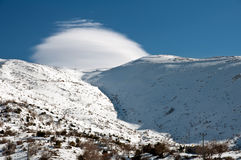 黑门山。 免版税图库摄影