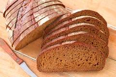 黑面包 免版税库存图片