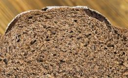 黑麦面包切片 库存照片